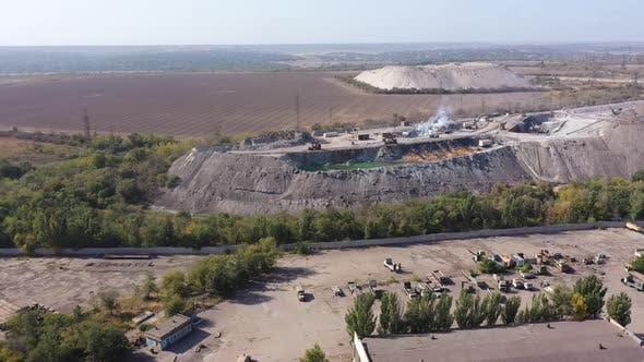 Industrial Zone. Environmental pollution.