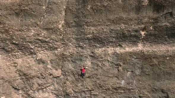 Thumbnail for Climber Climbing