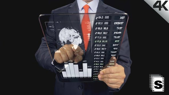 Futuristic Business Tablet