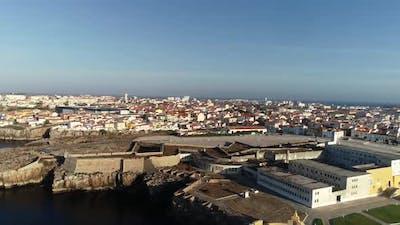 Historical Prison of Peniche in Portugal