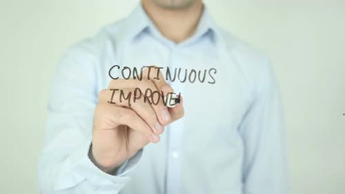 Continuous Improvement, Writing On Screen