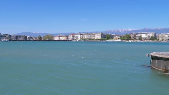Thumbnail for Embankment of Geneva, Switzerland.