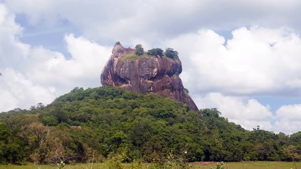 Thumbnail for Sigiriya Lion Rock Landscape a View From the Jungle, Sri Lanka