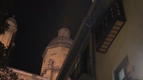 Kuppel in der Nacht