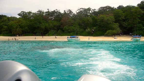 Thumbnail for Speedboat Departure From Similan Islands