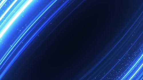 Blue Abstract Particles Background