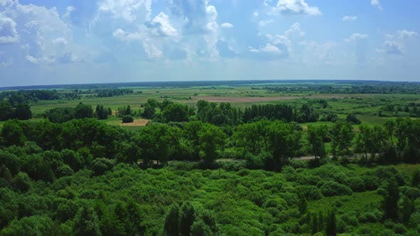 Cover Image for Aerial View Nature Of The Ukrainian Lands