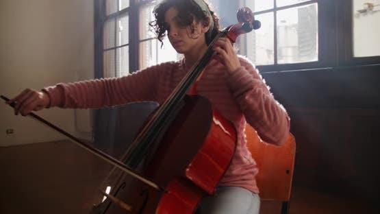 Cellisten proben