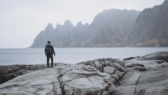 Thumbnail for Hiker Backpack Rocks By Fjord
