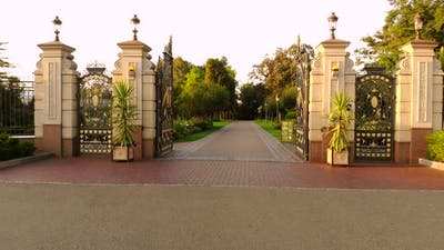 Enter Empty City Park