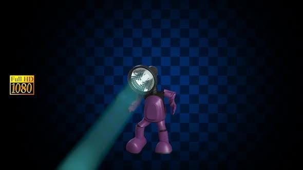 3D Alpha Person