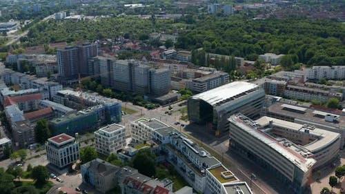 Panorama Curve Shot of Residential Neighbourhood