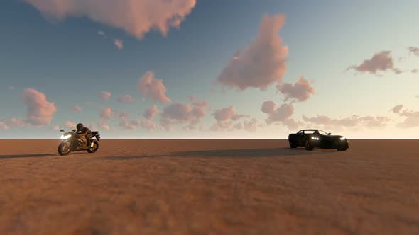 Thumbnail for Car And Motorcycle Race