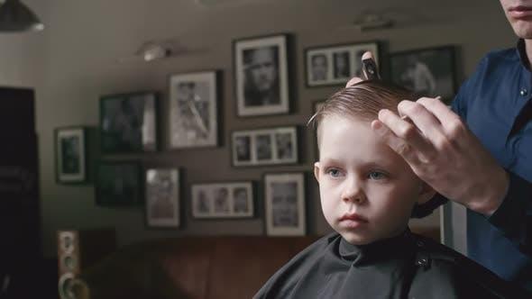 Thumbnail for Little Boy in Hair Salon