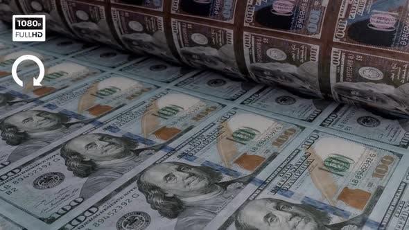 Dollar Money Printing Machine III