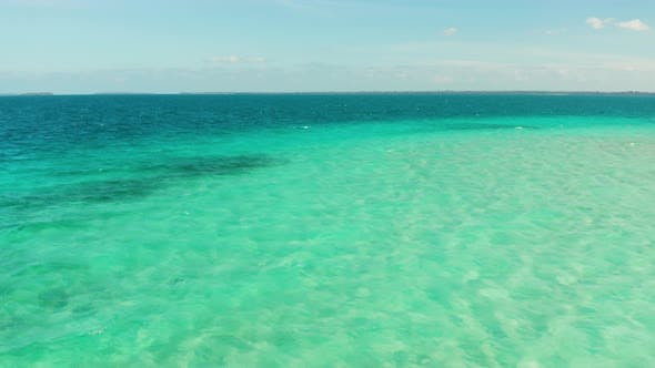 Thumbnail for Transparent Blue Sea Water in the Lagoon