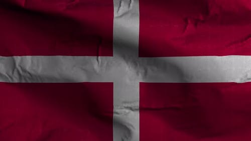 Sovereign Military Order Of Malta Flag Textured Waving Background 4K