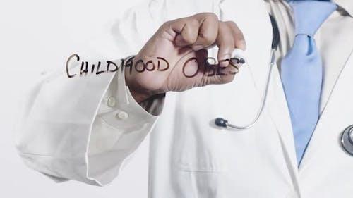 Asian Doctor Writes Childhood Obesity