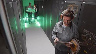 Security Camera Recording of Technician