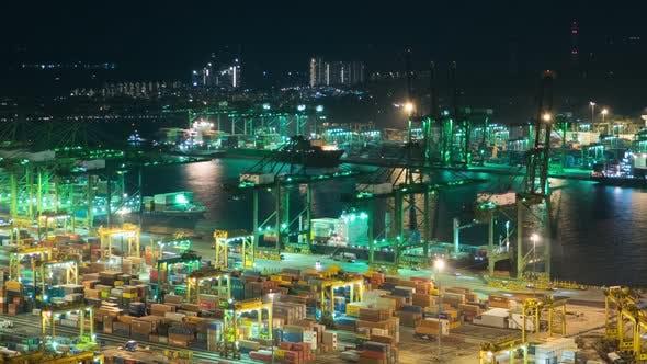 Thumbnail for Night Port City