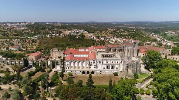 Thumbnail for Lateral View of Christ Convent in Tomar, Portugal