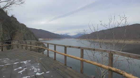 Thumbnail for Vidraru Lake seen from a viewpoint