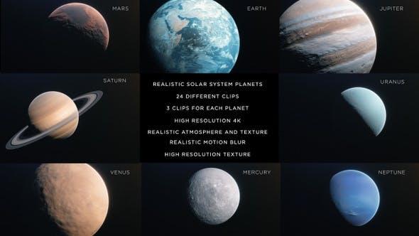 Solar System 4K