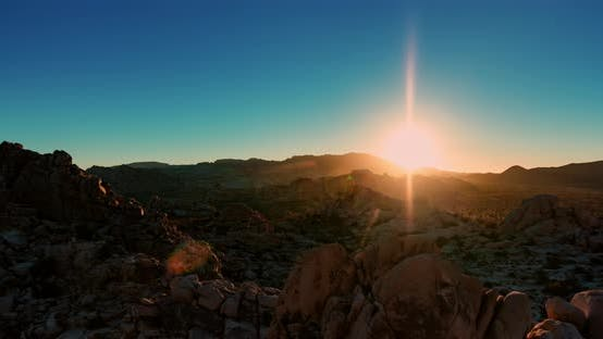 Thumbnail for Sonnenaufgang im Joshua Tree Nationalpark