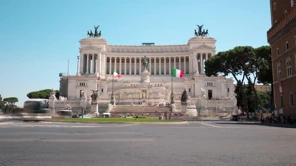 Thumbnail for Piazza Venezia Rome Italy