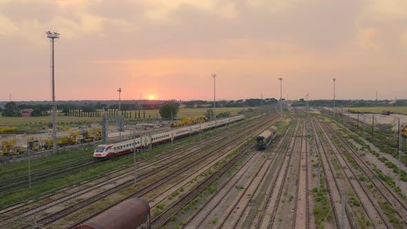 Train is Arriving in Pisa