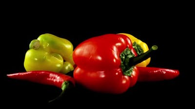 Sweet Pepper and Chili Pepper