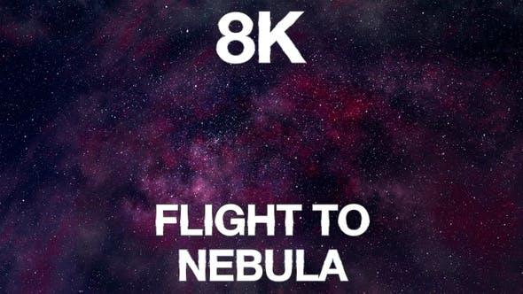 Thumbnail for Flight To Nebula 8K