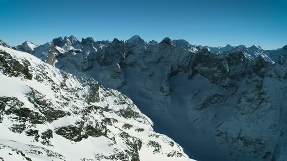 High Altitude Mountain Peaks Range
