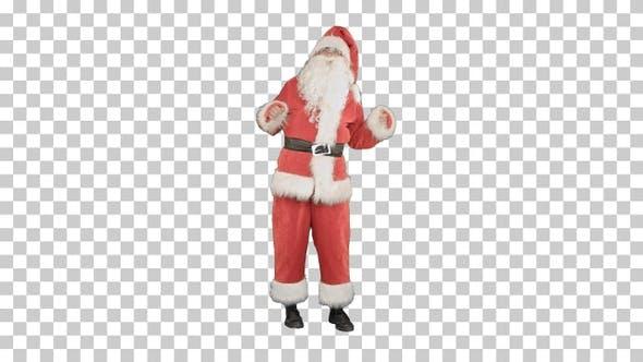 Thumbnail for Santa Claus Dancing, Alpha Channel