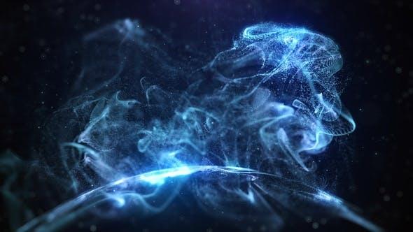 Thumbnail for Blue Dynamic Smoke