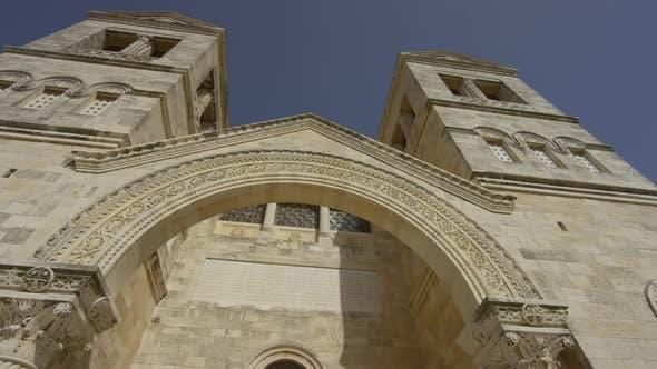 Thumbnail for Low angle view of the Church of the Transfiguration