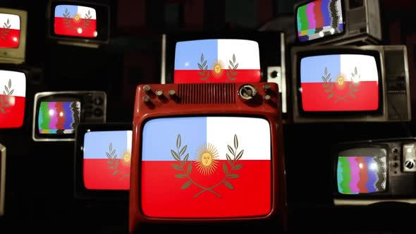 Thumbnail for Catamarca province flag, Argentina, and Retro TVs.