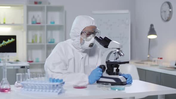 Thumbnail for Medical Scientist Looking at Camera in Laboratory