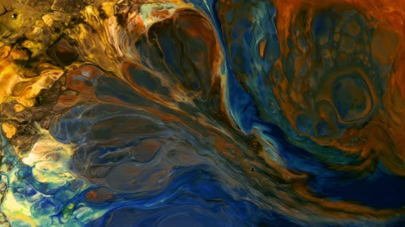 Thumbnail for Abstract Colorful Paint Ink Liquid Explode