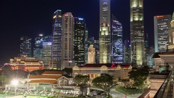 Thumbnail for Singapore Night Cityscapet