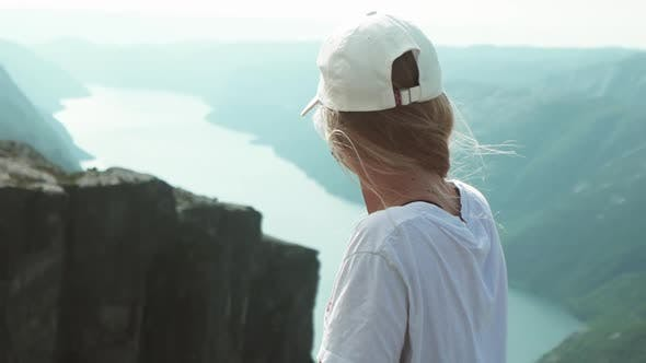 Thumbnail for Preacher Pulpit Rock and Nature in the Background