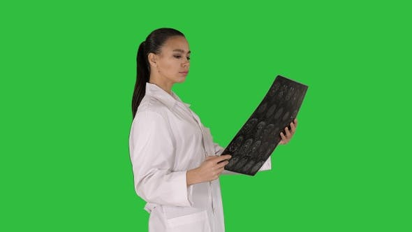Thumbnail for Intellectual woman healthcare personnel with white labcoat