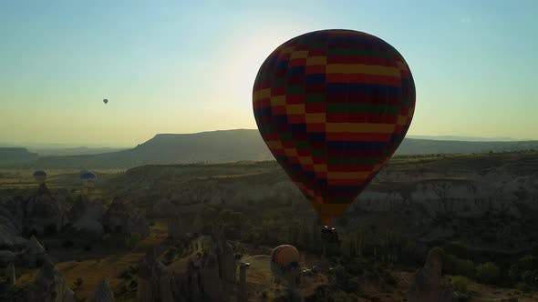 Cover Image for Flights On Hot Air Balloons In Cappadocia