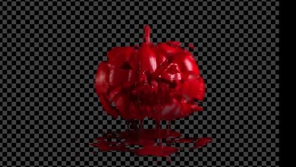 Halloween-Kürbis explodieren Alpha 02