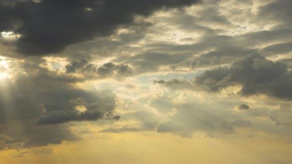 Afternoon Sky Landscape at Phuket