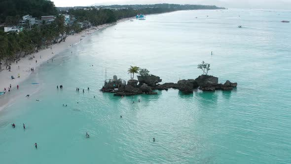 Thumbnail for Aerial View of Boracay Beach in Philippines