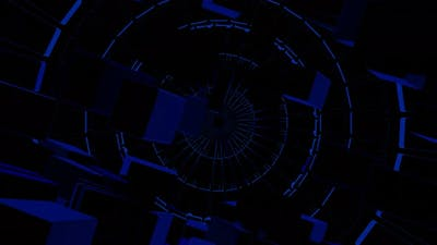 VJ Loops Neon Lights Mechanism