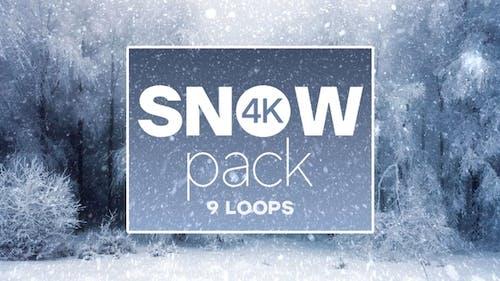 4k Snow Pack