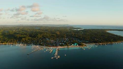 City General Luna on the Coast of Siargao Island
