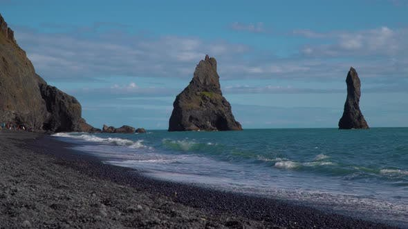 Thumbnail for Vik Black Sand Beach, Iceland